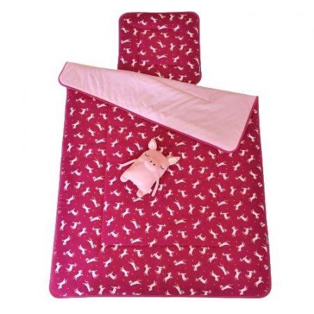 Ovis ágynemű szett töltettel unikornis pink
