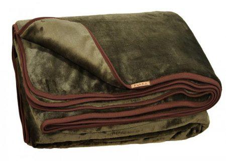 vadász horgász duplarétegű plüss takaró hordozóval 145x200