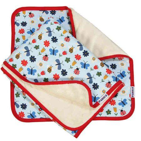 Bébi 2 részes takaró, párna, szett pillangók