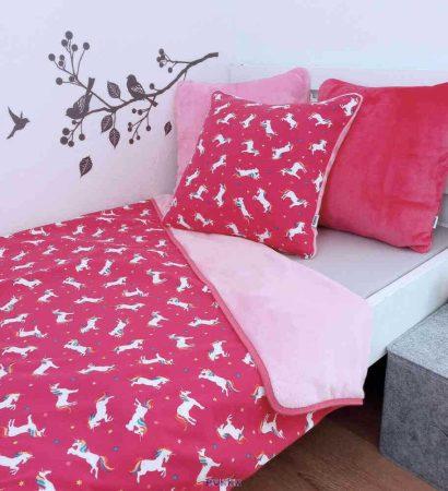 óvodás #ágynemű párnahuzattal unikornis #pink