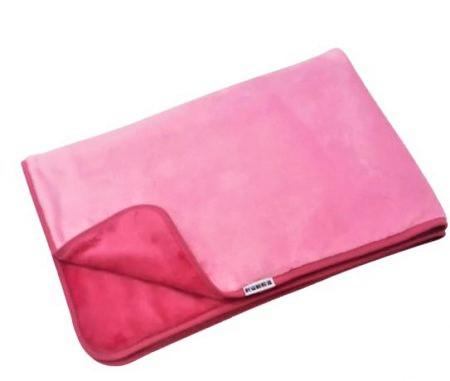 Kisbaba dupla plüss takaró #rózsaszín #pink