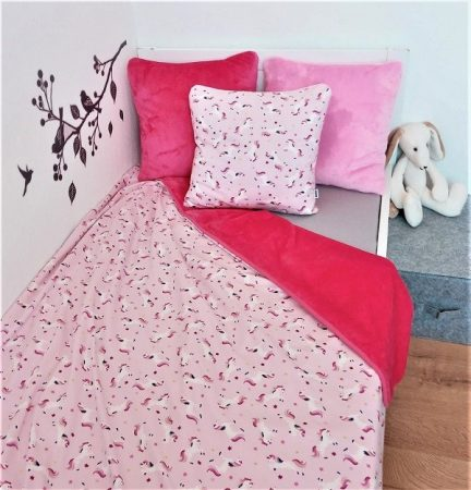 Takaró dupla 145x200 #unikornis #rózsaszín