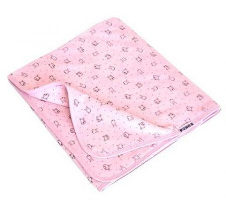 Baba takaró dupla rétegben  #rózsaszín