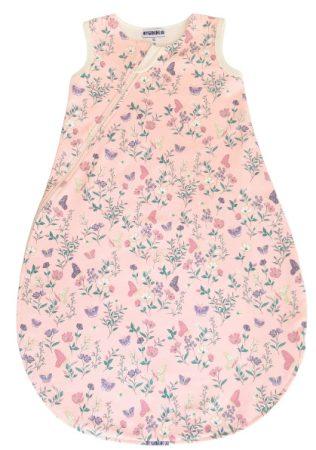 Baba pamut hálózsák pillangók rózsaszín