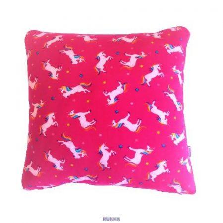 Unikornis párnahuzat #pink 40x40 cm