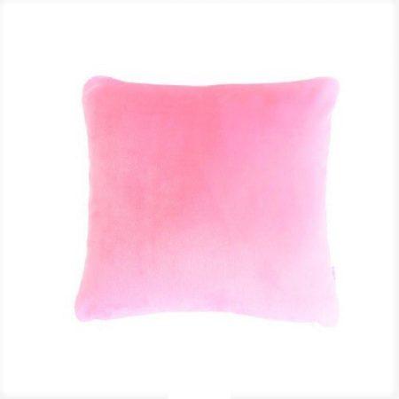 világos rózsaszín #plüss #párnahuzat 40x40