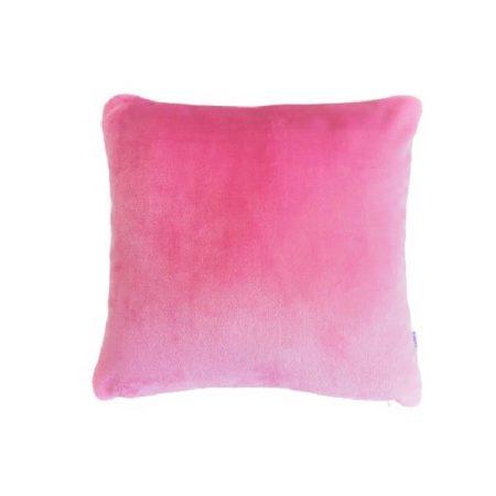 Plüss díszpárnahuzat #rózsaszín