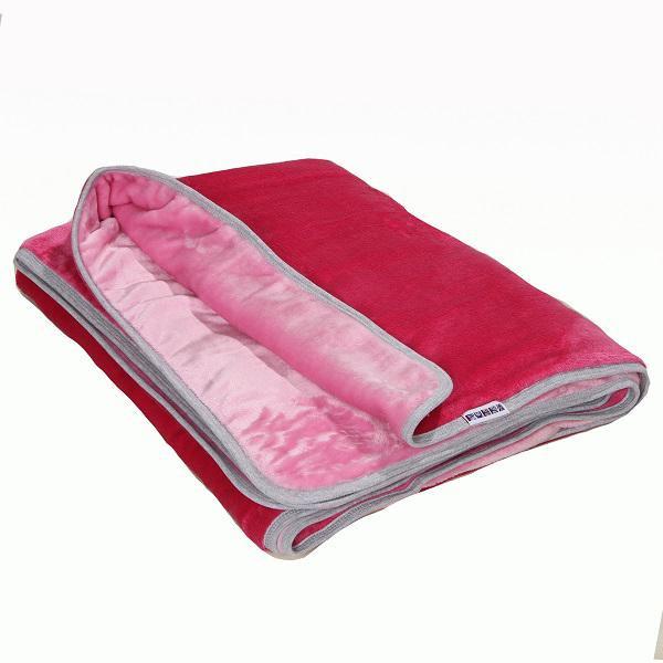 Plüss #takaró dupla #pink #rózsaszín