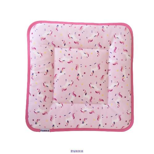 Babapárna töltettel unikornis rózsaszín